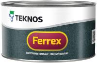 Краска Teknos Ferrex (330мл, серый) -