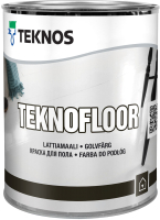 Краска Teknos Teknofloor Base 1 (900мл, белый) -