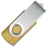 Usb flash накопитель Mid Ocean Brands Twister 16GB / MO1202c-40-16G (бамбук) -