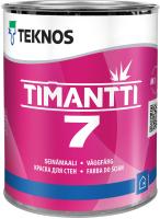 Краска Teknos Timantti 7 Base 1 (900мл, белый) -