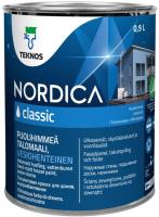 Краска Teknos Nordica Classic Base 1 (900мл, белый) -