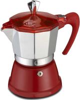 Гейзерная кофеварка G.A.T. Fantasia 106003 (красный) -