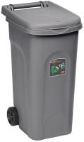 Контейнер для мусора Ipae Progarden 25599 (80л, серый) -