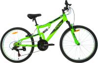Велосипед Stern S20ESTBB031-UM (зеленый/синий) -