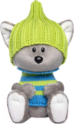 Мягкая игрушка Budi Basa Волчонок Вока в шапочке и свитере / LE15-021