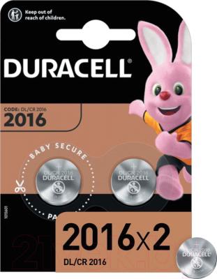 Комплект батареек Duracell Specialty Lithium DL/CR 2016