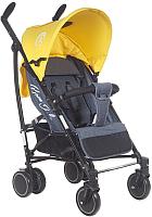 Детская прогулочная коляска Bambola Eclipse (серый/желтый) -