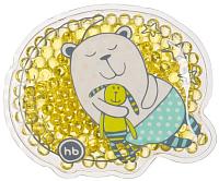 Гелевая грелка Happy Baby Hot Cold Pack / 21006 (желтый) -