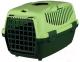 Переноска для животных Trixie Traveller Capri I 39814 (темно-зеленый/салатовый) -