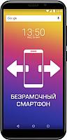 Смартфон Prestigio Wize Q3 / PSP3471DUO (черный) -