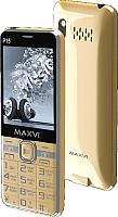 Мобильный телефон Maxvi P15 (золото) -