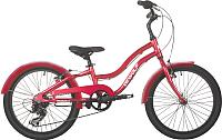 Детский велосипед Dewolf Wave 210 (ярко-красный) -