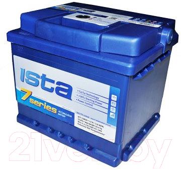 Автомобильный аккумулятор Ista 7 Series 6СТ-52А2HЕ