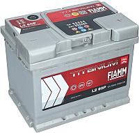 Автомобильный аккумулятор Fiamm Titanium Pro 7905147 (60 А/ч) -