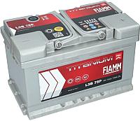 Автомобильный аккумулятор Fiamm Titanium Pro 7905156 (75 А/ч) -