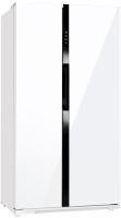 Холодильник с морозильником Maunfeld MFF 177NFW -