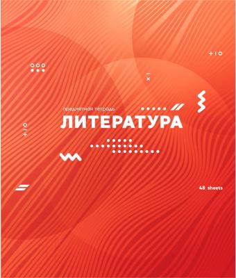 Тетрадь предметная, 2 шт. ArtSpace Bright Idea. Литература / Тп48ВЛк-30082