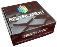 Пластик для 3D печати Bestfilament Набор ABS для 3D-ручки (10 цветов) -