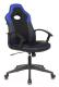 Кресло геймерское Бюрократ Viking-11 (черный/синий искусст.кожа/ткань) -