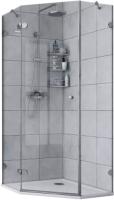 Душевой уголок Акватон Lax Fex 100x100 L (1AX023SSXX000) -