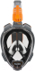 Маска для плавания Ocean Reef Aria Qr+ Snork / OR019070 (M, черный) -