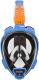 Маска для плавания Ocean Reef Aria Qr+ Snork / OR019071 (M, синий) -