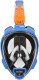 Маска для плавания Ocean Reef Aria Qr+ Snork / OR019011 (S, синий) -