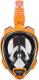 Маска для плавания Ocean Reef Aria Qr+ Snork / OR019014 (S, оранжевый) -