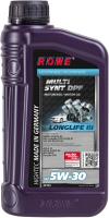 Моторное масло Rowe Hightec Multi Synt DPF 5W30 / 20125-0010-99 (1л) -