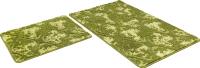 Набор ковриков Shahintex Vintage SHV002 60x100/60x50 (зеленый) -