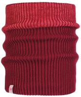 Бафф Buff Jr Knitted & Polar Neckwarmer Audny Wine (117880.403.10.00) -