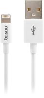 Кабель PARTNER MFI USB 2.0 - iPhone/iPod/iPad 8pin / 033368 (1м, белый) -