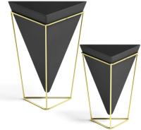Декор Umbra Trigg 1004372-1137 (черный латунь) -