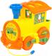 Развивающая игрушка Полесье Логический паровозик Миффи с 6 кубиками №1 / 80585 -