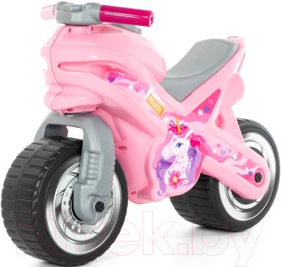 Каталка детская Полесье МХ Мотоцикл / 80608