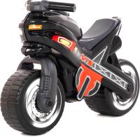 Каталка детская Полесье МХ Мотоцикл / 80615 (черный) -