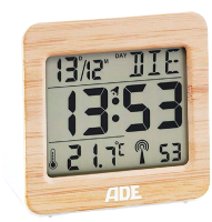 Метеостанция цифровая ADE CK1705 (Bamboo) -