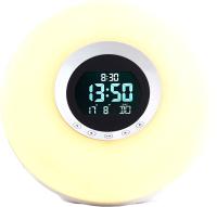 Световой будильник ADE CK1718 (белый) -