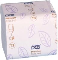 Туалетная бумага Tork Premium листовая 114276 -