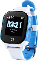 Умные часы детские Wonlex GW700s (белый/синий) -