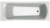 Ванна акриловая Ravak Domino Plus 170x75 / 70508024 (с ножками и сливом) -