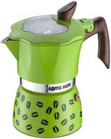Гейзерная кофеварка G.A.T. Coffee Show 104603 (зеленый) -