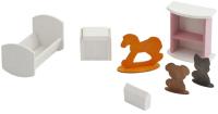 Комплект аксессуаров для кукольного домика Paremo Детская спальня / PDA417-02 -