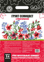 Грунт для растений Гумус Агро Семицвет (5л) -