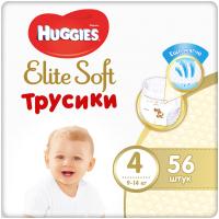 Подгузники-трусики детские Huggies Elite Soft Giga 4 (56шт) -