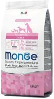 Корм для собак Monge Speciality All Breeds Adult Pork & Rice (2.5кг) -
