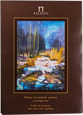 Набор бумаги для рисования Лилия Холдинг Весенний лес ПГА3/20 недорого