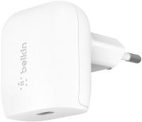 Адаптер питания сетевой Belkin 18W USB-C Home Charger / F7U096VFWHT (белый) -
