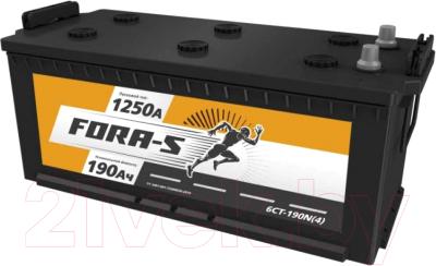 Автомобильный аккумулятор Fora-S Рус 4 клемма конус