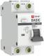 Дифференциальный автомат EKF Basic АД-12 1P+N 63А 30мА АС C / DA12-63-30-bas -